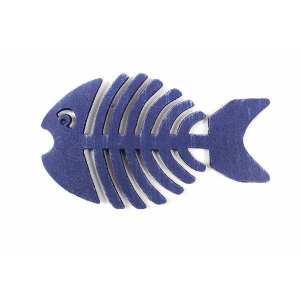 Cast Iron Fish Bone Trivet by Bay Isle Home