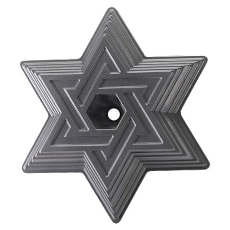 Platinum Star of David Cake Bundt by Nordic Ware