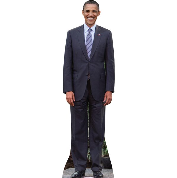 President Obama Cardboard Standup by Advanced Graphics
