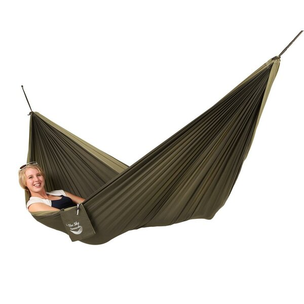 Carbaugh Couples Double Nylon Camping Hammock by Freeport Park