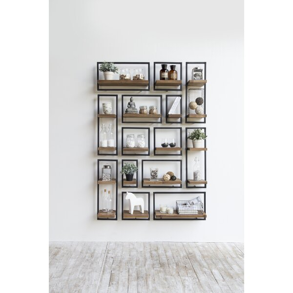 Langridge Metal Frame Wall Shelf by Union Rustic
