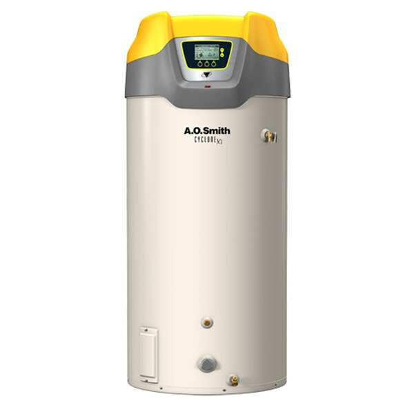Commercial Tank Type Water Heater Nat Gas 100 Gal Cyclone Xi 150,000 BTU Input High Efficiency by A.O. Smith