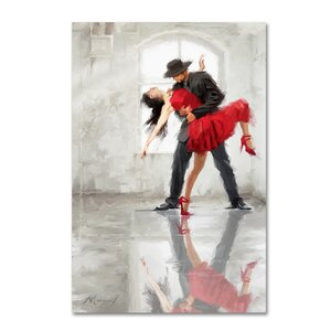 'Passion' Print on Wrapped Canvas by Red Barrel Studio