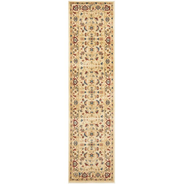 Blossom Light Blue/Ivory Floral Area Rug by Safavieh
