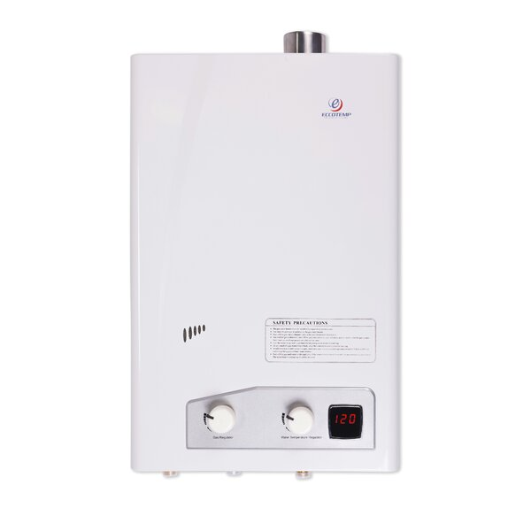 FVI12-NG Natural Gas Indoor Forced Vent Tankless Water Heater by Eccotemp Systems LLC