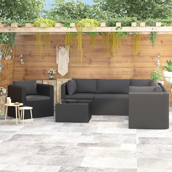 Andraz 7 Piece Sectional Seating Group with Cushions by Latitude Run