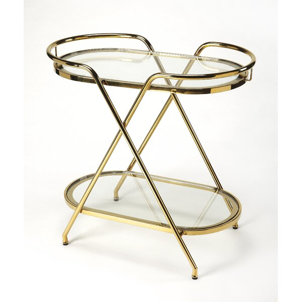 Partingt Tray Table by Everly Quinn Everly Quinn