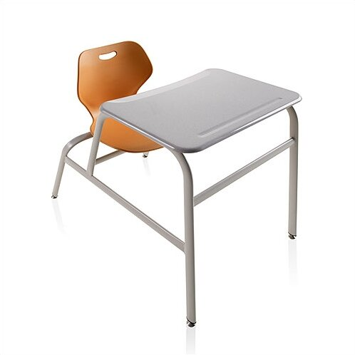 Intellect Wave Plastic 32 Combination Desk by KI Furniture