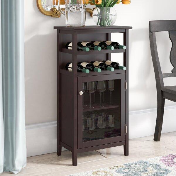 Stapp 8 Bottle Floor Wine Cabinet By Alcott Hill