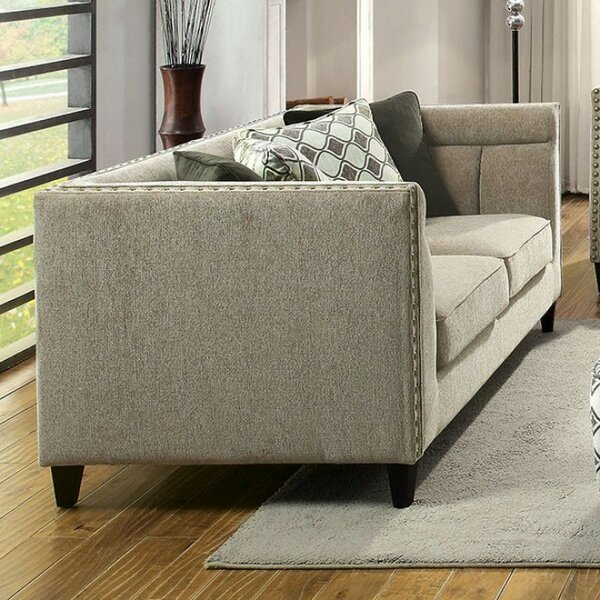 Rhynes Transitional Style Relaxing Loveseat by Charlton Home