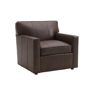 Kitano Ardsley Leather Armchair By Lexington