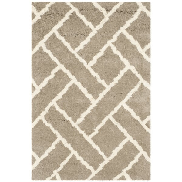 Wilkin Beige / Ivory Area Rug by Wrought Studio