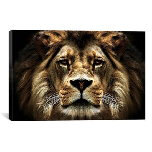 'The Lion' Photographic Print by East Urban Home