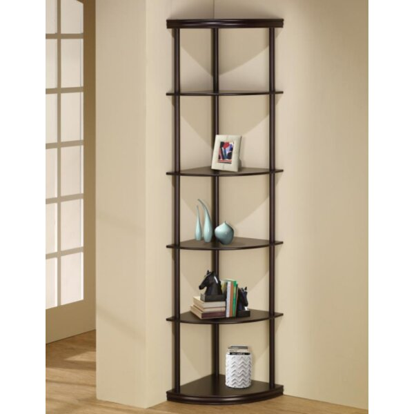 Manzo Corner Unit Bookcase by Ebern Designs