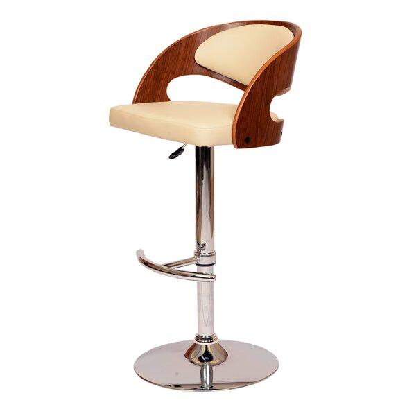 Garland Adjustable Height Swivel Bar Stool by Corrigan Studio