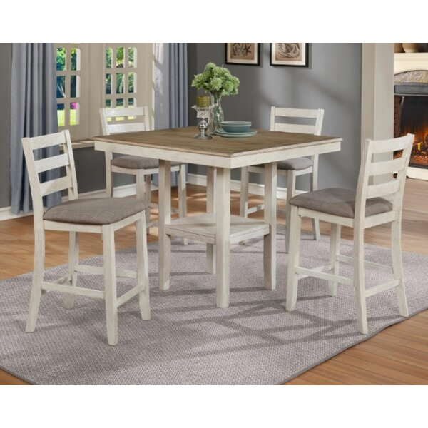 Arshen 5 - Piece Counter Height Dining Set by Gracie Oaks Gracie Oaks
