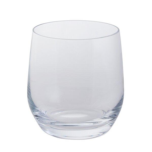 Mullinix 13 oz. Glass Every Day Glass (Set of 4) by Ebern Designs