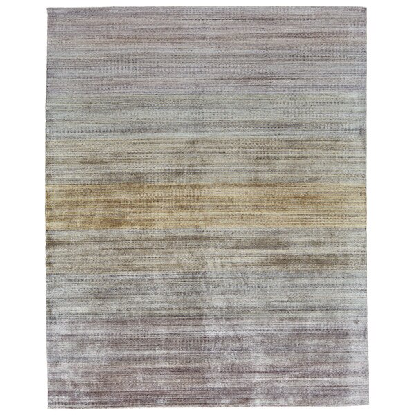 Ewell Hand-Woven Pastel Area Rug by Ebern Designs