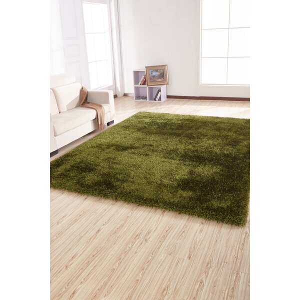 Housman Hand-Tufted Green Area Rug by Zoomie Kids