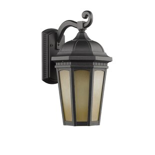 Compare Borden 1-Light Transitional Outdoor Wall Lantern By Charlton Home