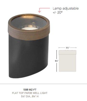 Flat Top 1 Light Well Light by Hinkley Lighting