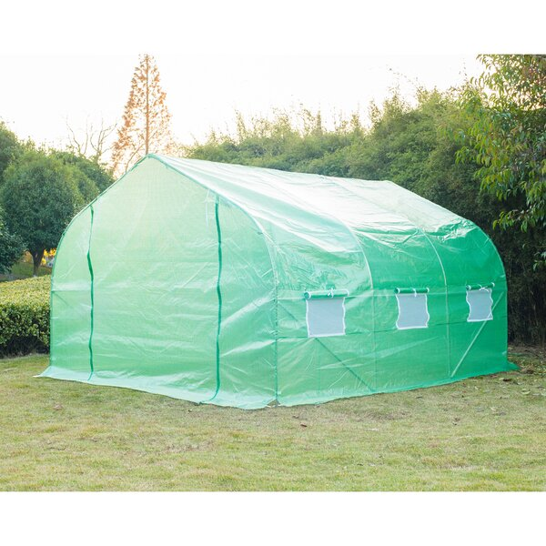 9.8 Ft. W x 11.5 Ft. D Commercial Greenhouse by Outsunny