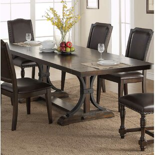 Keshia Pedestal Dining Table with Leaves & Farmhouse Dining Tables | Birch Lane