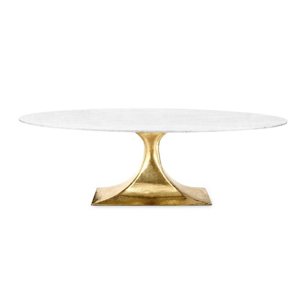 Kyte Marble Dining Table by Everly Quinn