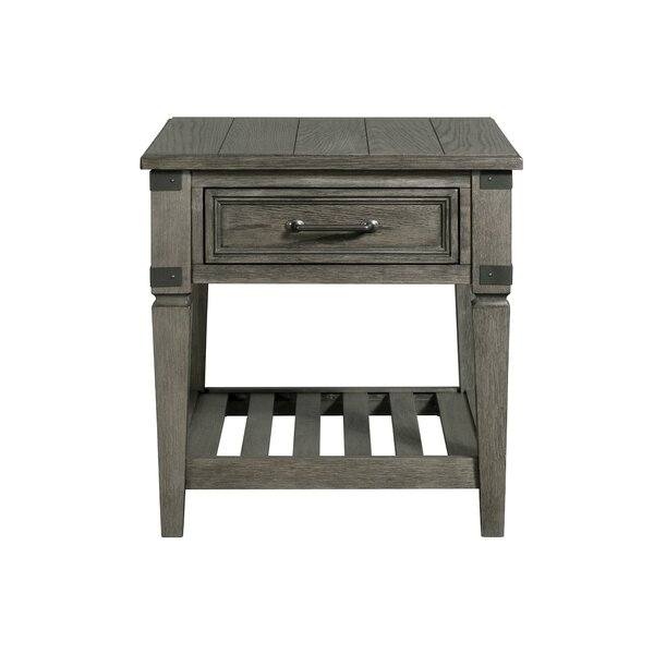 Padiham End Table With Storage By Alcott Hill