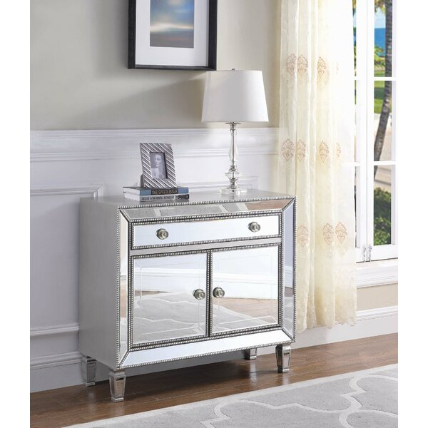 Burruss 2-Door Accent Cabinet by House of Hampton House of Hampton