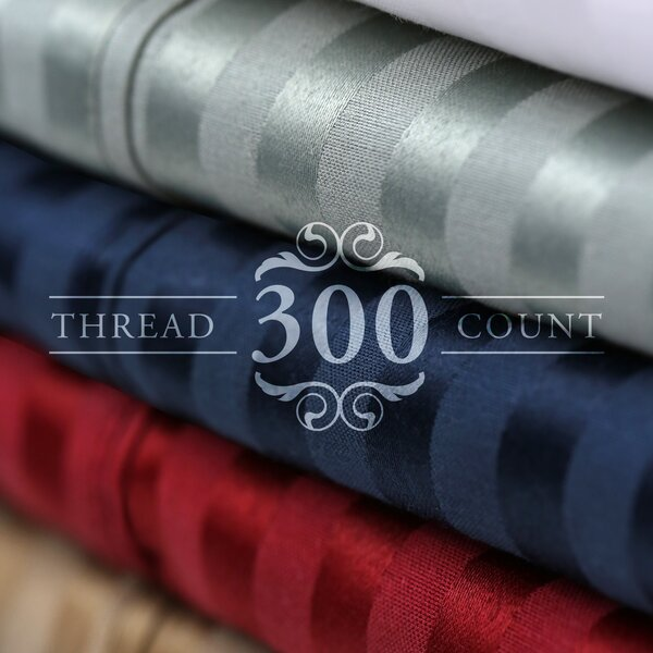 300 Thread Count Cotton Blend Sheet Set by Alwyn Home