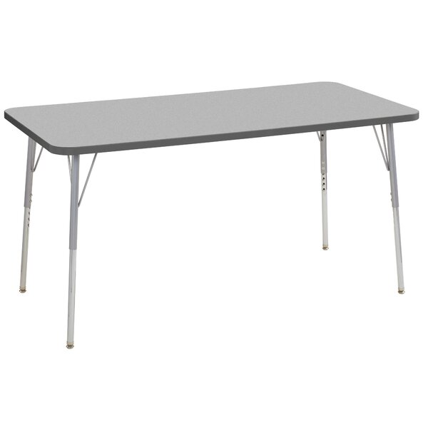 Contour Thermo-Fused Adjustable 30 x 60 Rectangular Activity Table by ECR4kids
