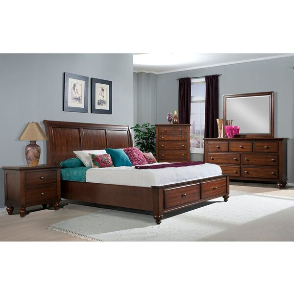 Whitcomb Panel 5 Piece Bedroom Set by Darby Home Co