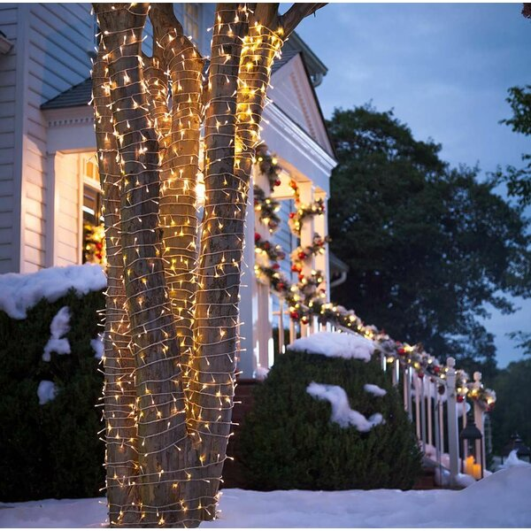 White LED 192 Light String Lights by Plow & Hearth