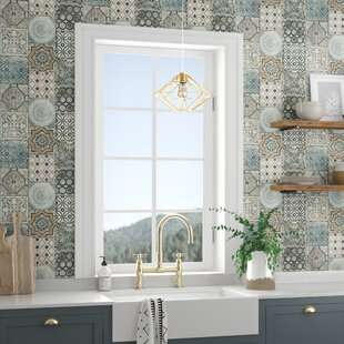 Cormier Moroccan Tile 18 L X 20 5 W And Stick Wallpaper Roll