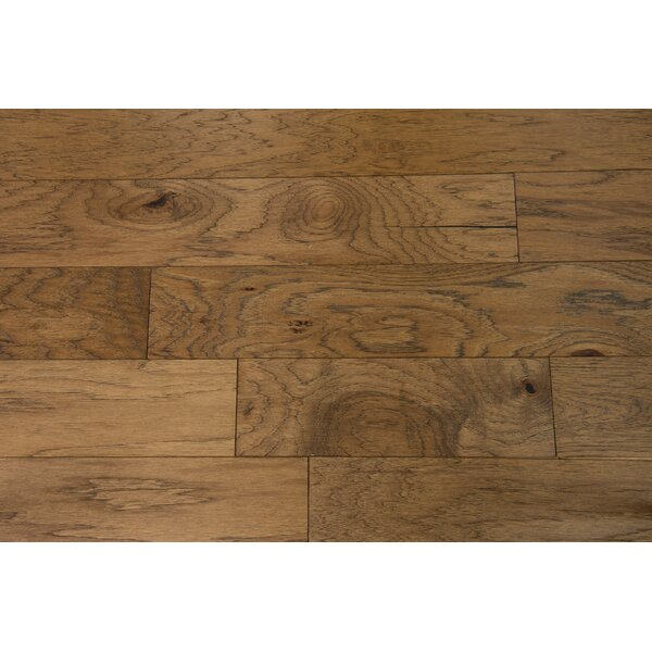 Lisbon 5 Engineered Hickory Hardwood Flooring in Fennel by Branton Flooring Collection