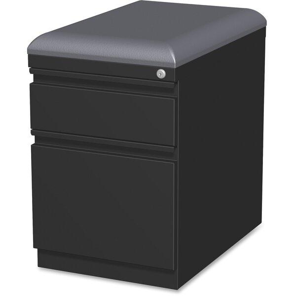 Cushion Seat Storage Mobile Pedestal File by Lorell