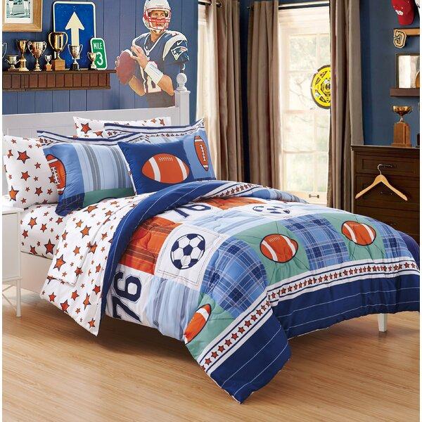 Brenner Reversible Comforter Set by Zoomie Kids