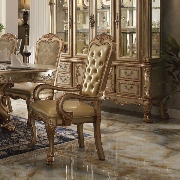 Welliver Upholstered Dining Arm Chair (Set of 2) by Astoria Grand