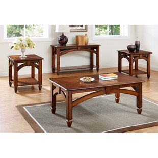 Look for Arch Design 3 Piece Coffee Table Set By Bernards
