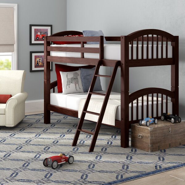 Mireya Twin Over Twin Bunk Bed By Viv + Rae by Viv + Rae Top Reviews