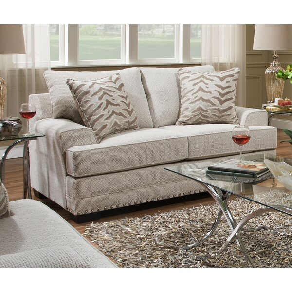 Surratt Loveseat by Simmons Upholstery by Three Posts