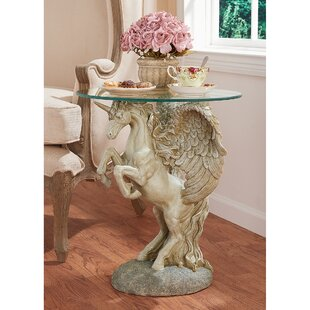 Great choice Mystical Winged Unicorn End Table By Design Toscano