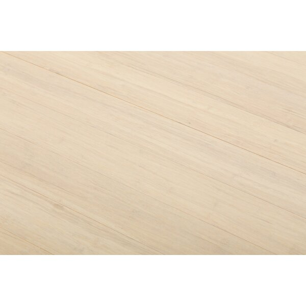 4-1/2  Solid-Lock Strandwoven Bamboo Flooring in Frost by ECOfusion Flooring
