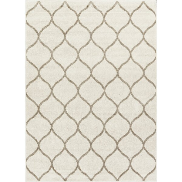 Rothenberg Ivory Area Rug by Charlton Home