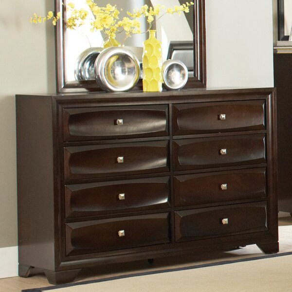 Jaxson 8 Drawer Double Dresser by Wildon Home®