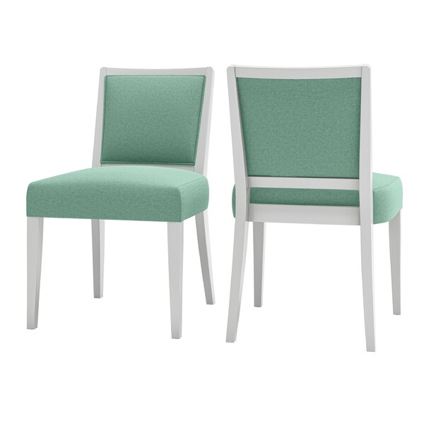 Haings Upholstered Parsons chair (Set of 2) by Andover Mills Andover Mills™
