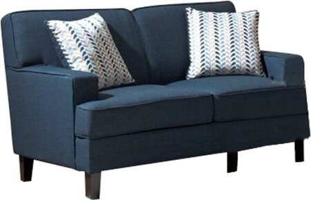 Donegan Linen Loveseat by Mercury Row