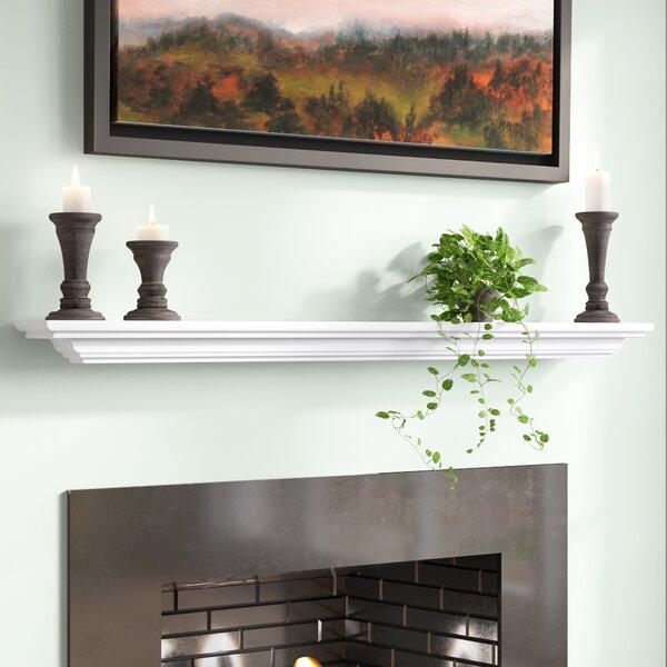 Hyder Fireplace Mantel Shelf By Charlton Home