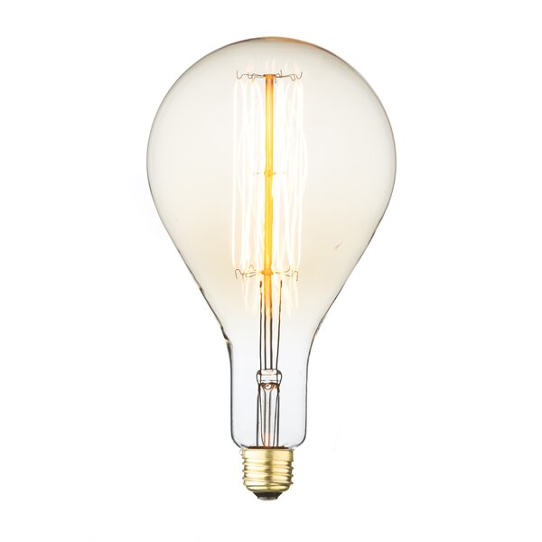 Orange Incandescent Light Bulb by String Light Company